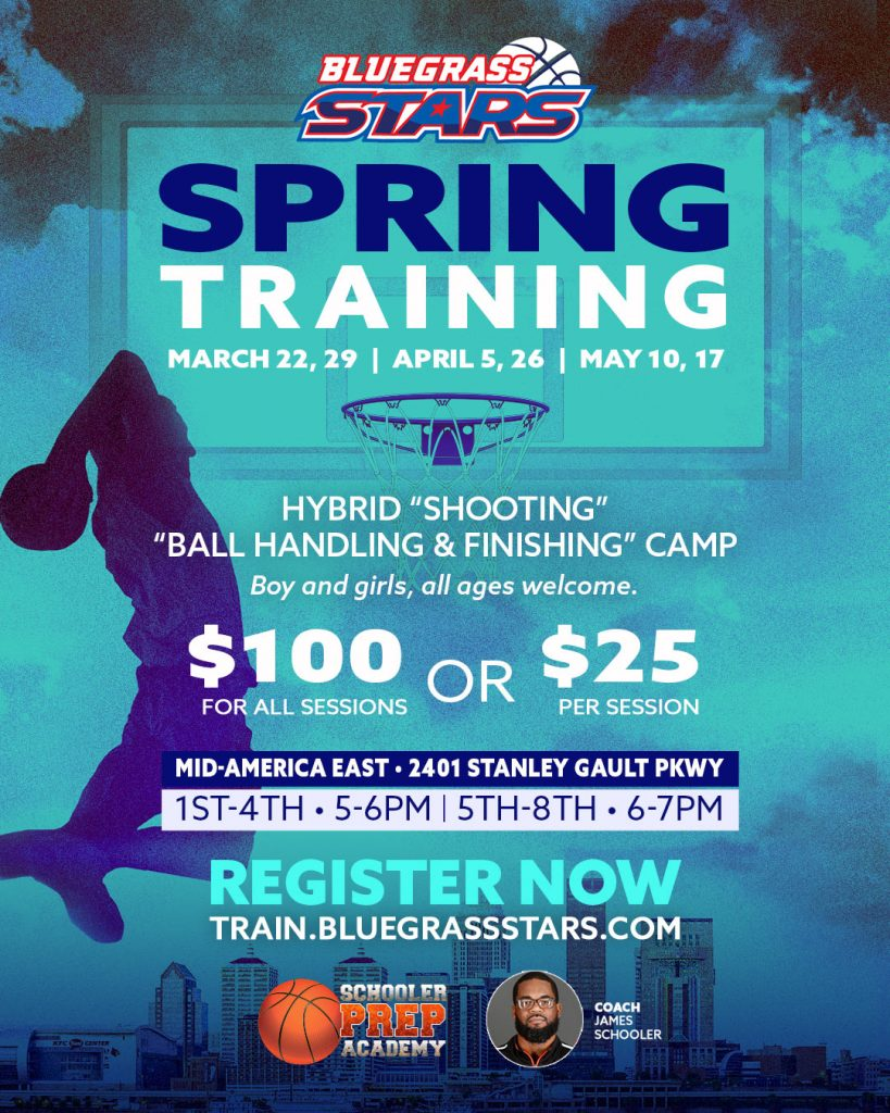 Spring Youth Basketball Training 2020